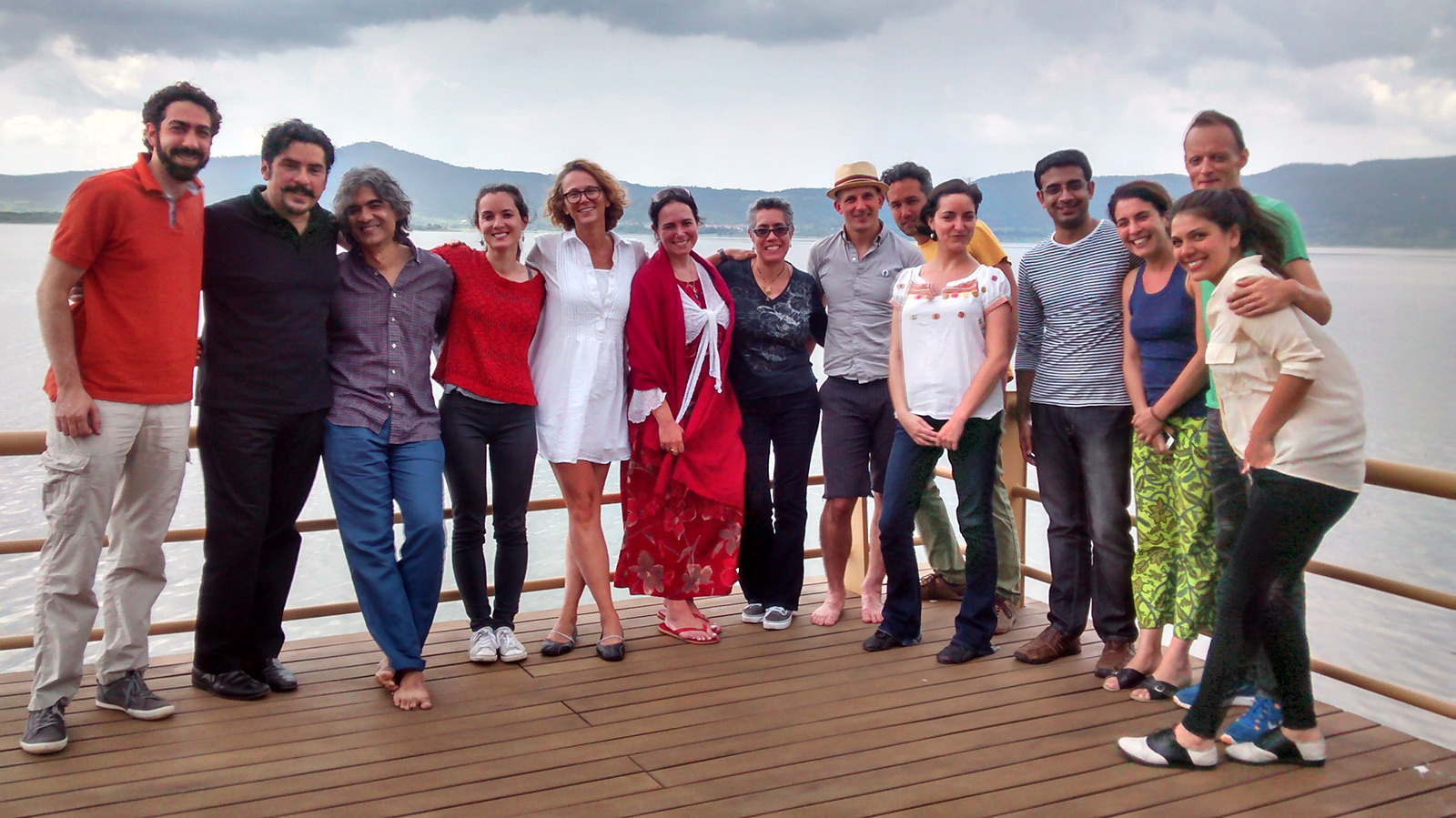 2014 International Screenwriter's Workshop - Participants